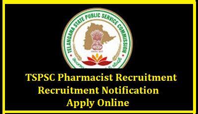 Pharmacist Recruitment by Tspsc Pharmacist Recruitment 2018 238 Pharmacist Gr Ii