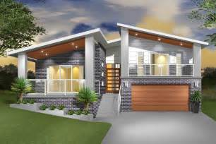 Steep Site House Plans hinchinbrook split level sloping block marksman