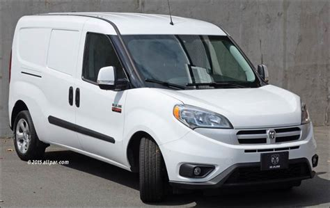 dodge commercial van ram promaster city a week with the small commercial van