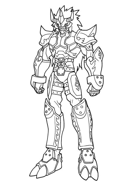 coloring page digimon coloring pages 83