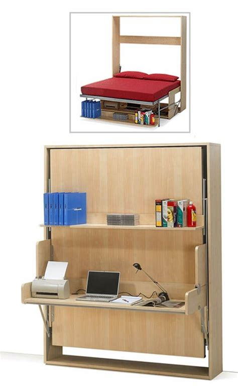Bed And Desk For Small Room 1393 Best Images About Creative Space Saving Furniture On Loft Beds Tiny Apartments