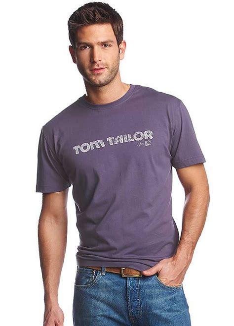 Tom Tailor by Tom Tailor Purple Logo Print T Shirt Swimwear365