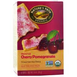 Organic Toaster Pastries Nature S Path Organic Frosted Toaster Pastries Cherry