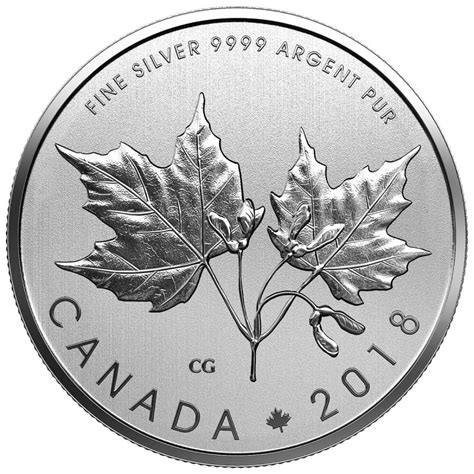 10 Dollar Silver Coin by 2018 Canada Silver 10 Coin Maple Leaves