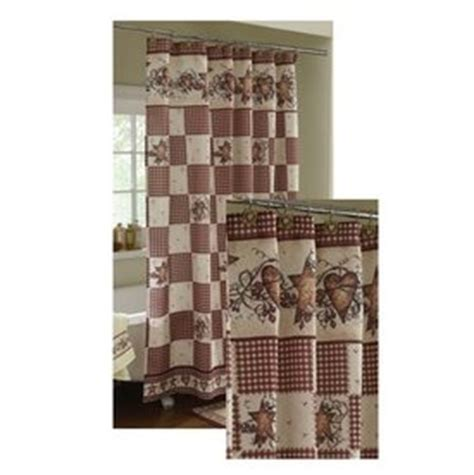 country star shower curtain com country hearts and stars shower curtain home
