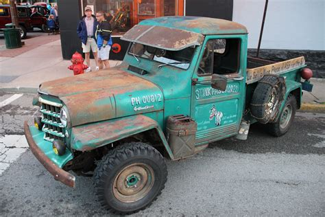 Willys Rat Rod Jeep 1952 Willys Jeep Truck Rat Rod Offroaders
