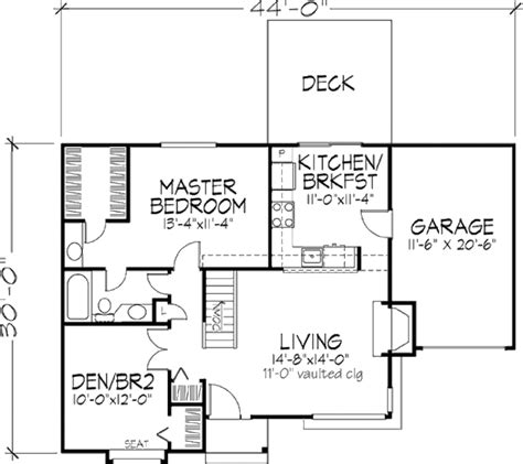 950 square feet ranch style house plan 1 beds 1 00 baths 950 sq ft plan