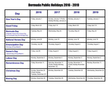 printable calendar victoria 2018 victoria public holidays 2016 and 2017 the best holiday 2017