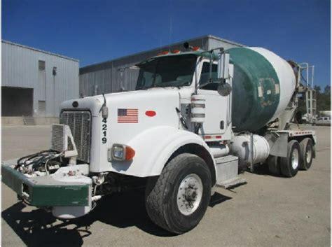Vegas Inter Mba Mixer 201 by Peterbilt Mixer Trucks Asphalt Trucks Concrete Trucks