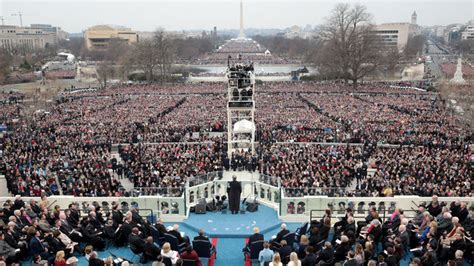 picture of inauguration crowd whose inauguration crowd was bigger trump or obama fox23