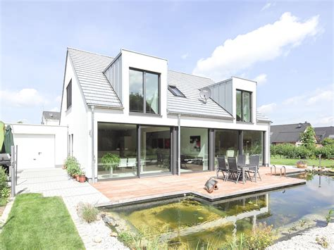 Eingeschossiges Haus by Haus Waldblick Holzbau Becker Sohn Musterhaus Net