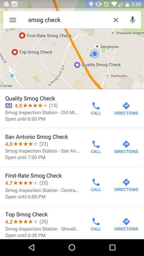 Ad Search About Local Search Ads On Maps Adwords Help