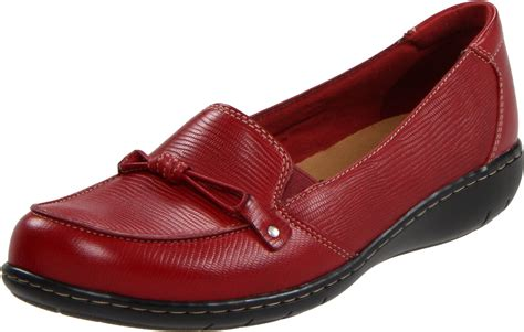 clark loafers womens clarks clarks womens sixty seaway slipon loafer in lyst