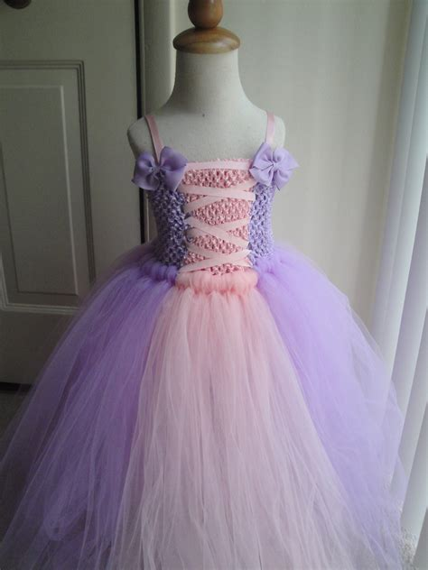Handmade Rapunzel Dress - rapunzel tutu dress costume