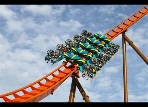 9 Rankers Of The Roller Coaster World by Shows Dizzying Test Ride Aboard Six Flags