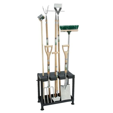 Landscape Tool Rack by New Free Standing Garden Tool Storage Rack Holder