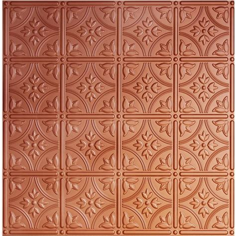 copper ceiling tiles global specialty products dimensions 2 ft x 2 ft copper tin ceiling tile for refacing in t