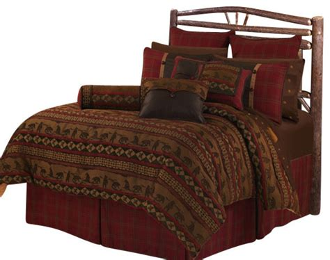 rustic comforter sets queen lodge comforter set queen rustic comforters and