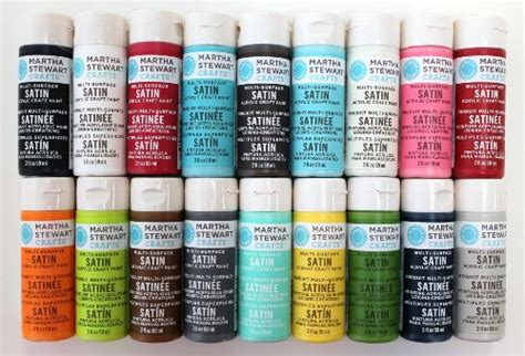 acrylic paint reviews martha stewart crafts multi surface satin acrylic craft