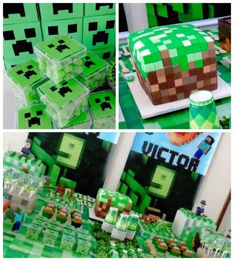 100 14 best minecraft birthday party kara u0027s