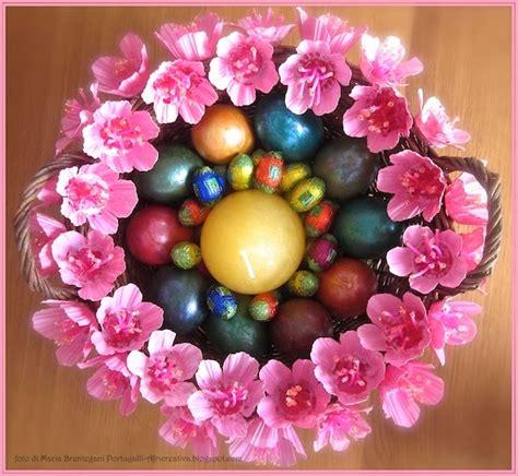 bouquet fiori di pesco africreativa centrotavola per pasqua con fiori di pesco