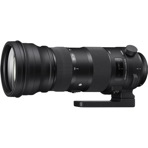 Sigma For Canon sigma 150 600mm f 5 6 3 dg os hsm sports lens for canon