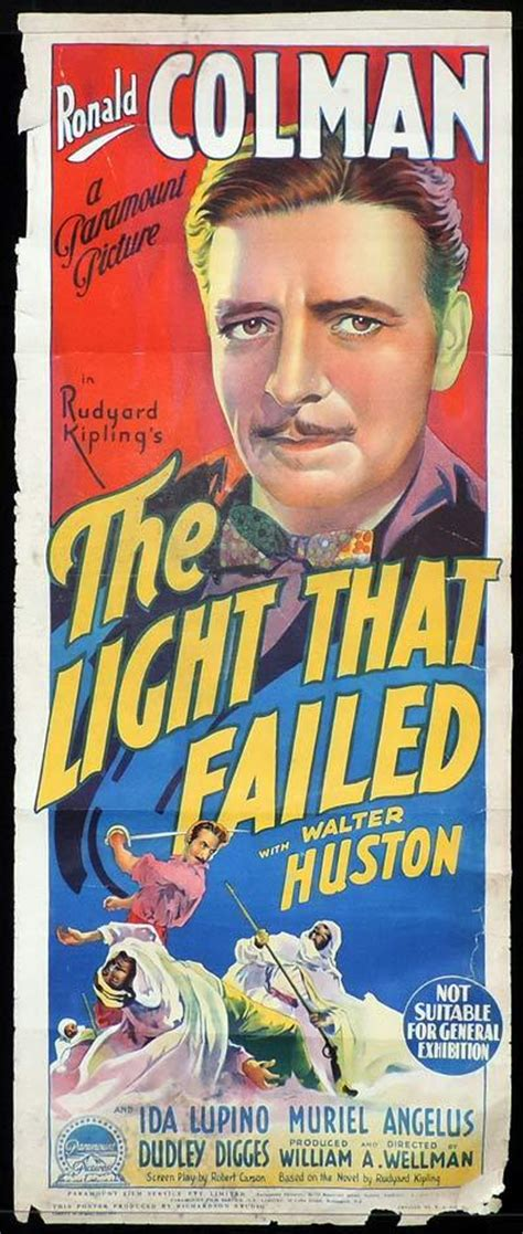 the light that failed the light that failed daybill poster 1939