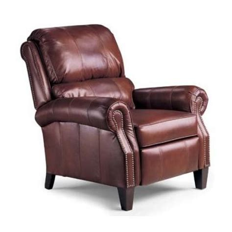 Recliners And More by Retro Style Palimino Leather Recliner Chair And Ottoman
