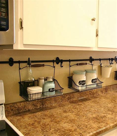 Small Kitchen Organization Tips - ideas for organizing a small kitchen small kitchens organizations and under cabinet