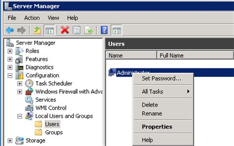 windows 2008 r2 password reset how to change the administrator password in windows server