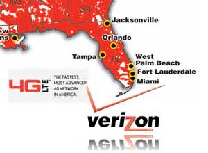 verizon coverage map florida ppcgeeks verizon to expand florida s 4g market