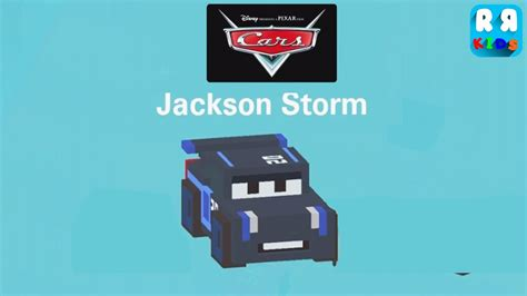 Cars New Road by Disney Crossy Road New Cars 3 Jackson