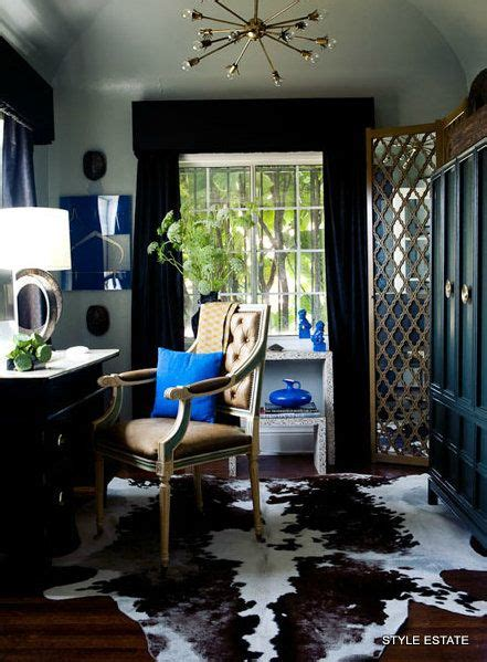 cowhide home decor 32 best images about navy teal and orange rooms on