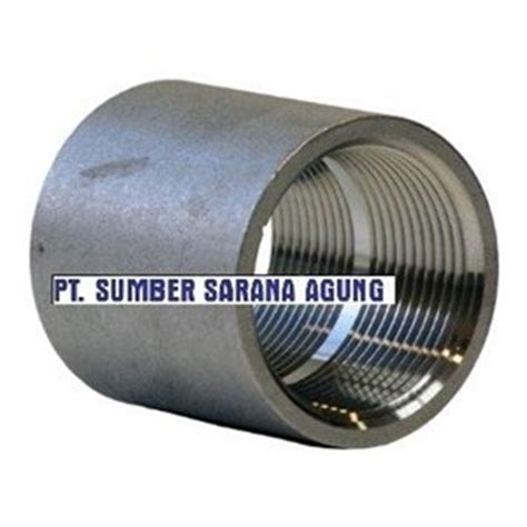 Socket Coupling Stainless Steel 304 Dia 1 jual coupling socked drat
