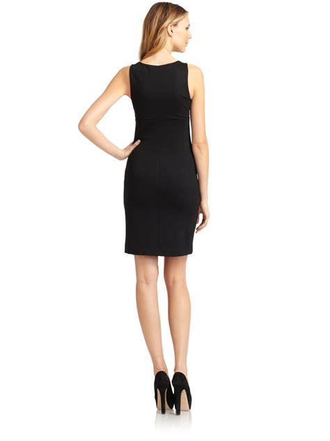 Dress Classic Black lyst moschino classic shift dress in black
