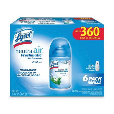 lysol neutra air freshener freshmatic refills fresh scent  pack ebay
