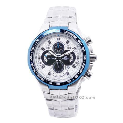 Jam Tangan Edifice Ef 554d Silver harga sarap jam tangan edifice ef 554d 7av silver blue