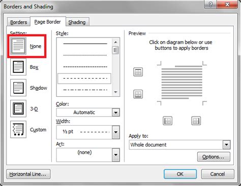 remove layout word page border in word joy studio design gallery best design