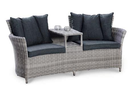 polyrattan sofa mit stauraum fixias gartenbank mit stauraum rattan 071429 eine