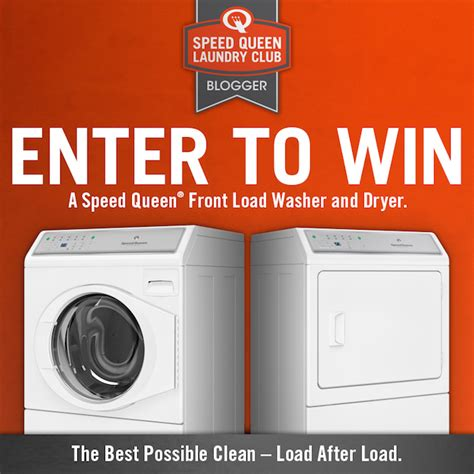 Laundry Pair A Day Giveaway by Speedqueenhome Laundrydaylove Giveaway Win A Speed