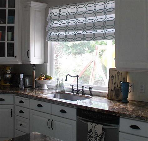 Window Treatment Ideas For Kitchen Kitchen Window Treatments Kitchen Ideas Custom Blinds Bathroom Window Curtains Kitchen