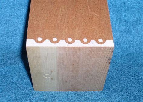 knapp joint  chucko  lumberjockscom woodworking