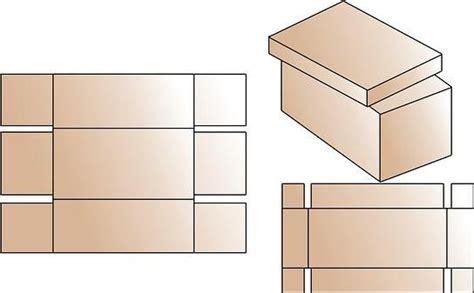 moldes de cajitas de papel como hacer una cajita con carton corrugado imagui