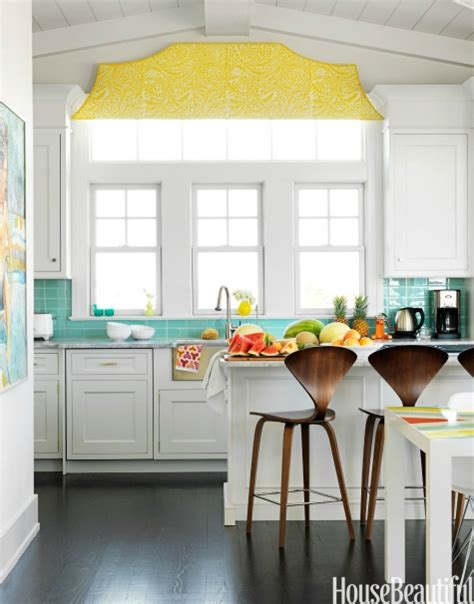 house beautiful ocean inspired kitchen urban grace coastal kitchen backsplash ideas with tiles from beach