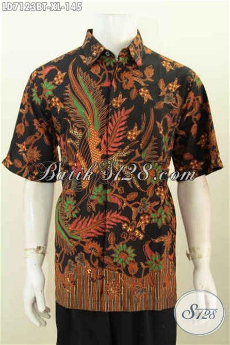 Hem Batik Jawa baju hem batik jawa tengah berbahan halus motif mewah