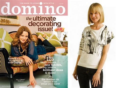 Domino Magazines Eco Friendly Clothing List by Domino Magazine Folds Weight Of Crappy Economy