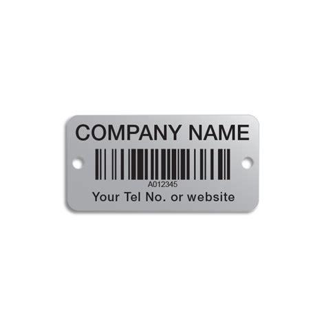 Label Barcode Ukuran 52 X 25mm aluminium barcode labels 50 x 25mm gsm label sales