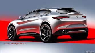 Alfa Romeo 168 2018 Alfa Romeo Stelvio Design Sketch Hd Wallpaper 168