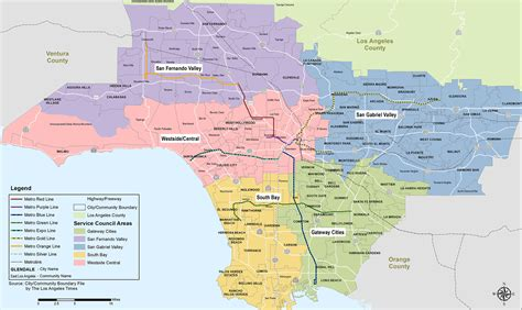 la county map la county service planning areas pictures to pin on pinsdaddy