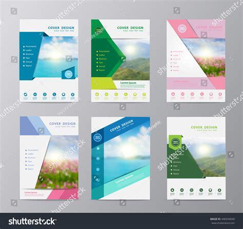 nature brochure template or flyer design stock annual report brochure flyer design template stock vector